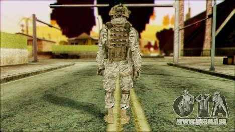 Ranger (CoD: MW2) v4 pour GTA San Andreas deuxième écran
