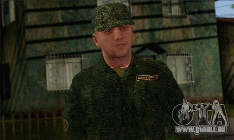 Private Motorisierte Gewehr Truppen. RAA v2 für GTA San Andreas dritten Screenshot