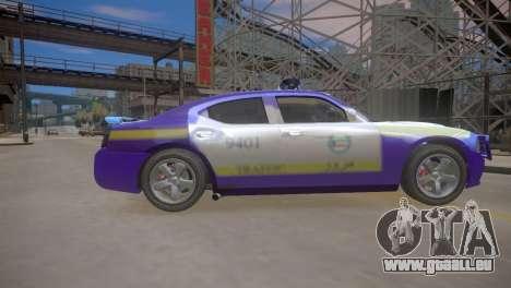 Dodge Charger Kuwait Police 2006 pour GTA 4 est une vue de l'intérieur