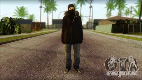 Vandal Euromaidan Style Dirty pour GTA San Andreas