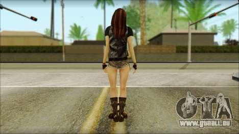 Bike Girl pour GTA San Andreas deuxième écran