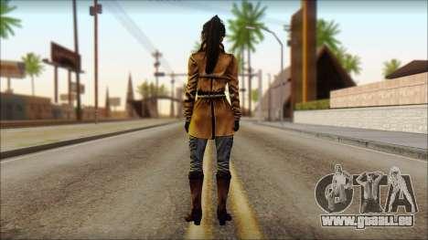 Tomb Raider Skin 2 2013 für GTA San Andreas zweiten Screenshot