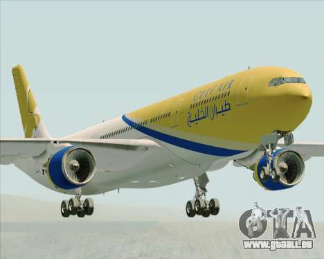 Airbus A330-300 Gulf Air pour GTA San Andreas