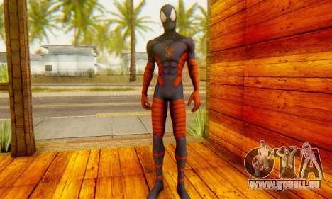 Skin The Amazing Spider Man 2 - DLC Anti-Electro für GTA San Andreas dritten Screenshot