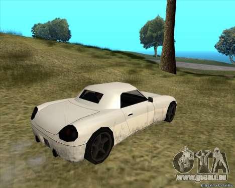 Stinger pour GTA San Andreas vue de droite