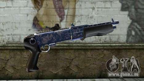 Graffiti Shotgun v2 pour GTA San Andreas deuxième écran