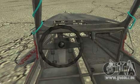 Space Docker from GTA V pour GTA San Andreas sur la vue arrière gauche