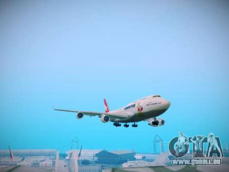 Boeing 747-438 Qantas Boxing Kangaroo für GTA San Andreas