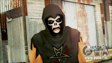 Manhunt Ped 4 für GTA San Andreas dritten Screenshot