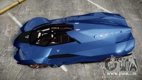 Lamborghini Egoista für GTA 4 rechte Ansicht