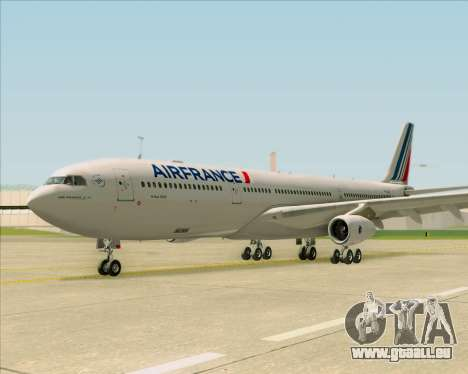 Airbus A340-313 Air France (New Livery) pour GTA San Andreas vue intérieure