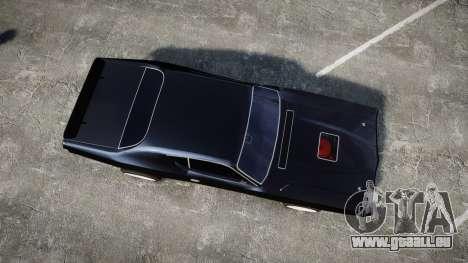 Dodge Charger 1971 pour GTA 4 est un droit