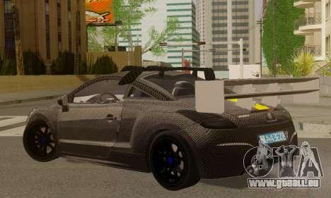 Peugeot RCZ GTS 2010 Tuned v2.0 pour GTA San Andreas laissé vue