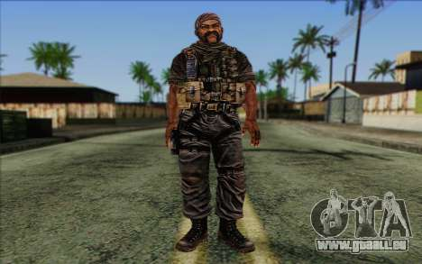 Soldaten aus dem Rogue Warrior 3 für GTA San Andreas
