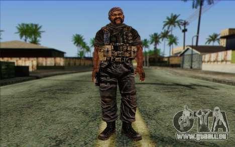 Soldaten aus dem Rogue Warrior 3 für GTA San Andreas