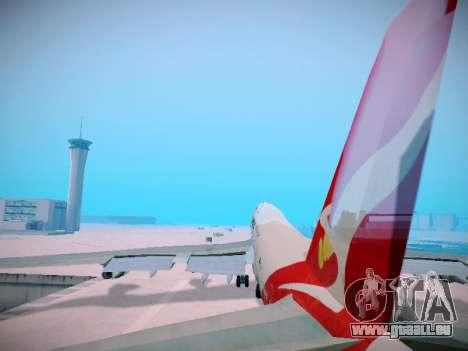 Boeing 747-438 Qantas Boxing Kangaroo pour GTA San Andreas roue