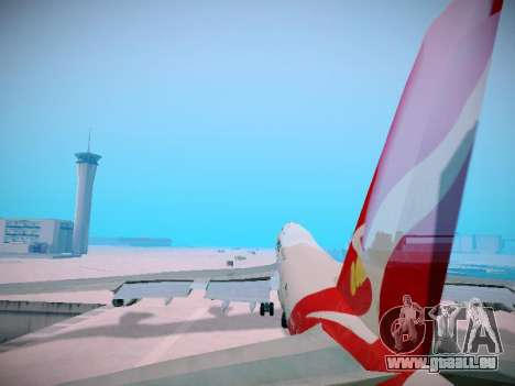 Boeing 747-438 Qantas Boxing Kangaroo für GTA San Andreas Räder