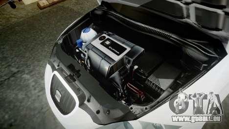 Seat Leon Guido Belsito pour GTA 4 Vue arrière