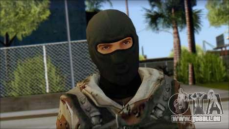 Soviet Soldier für GTA San Andreas dritten Screenshot