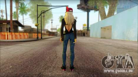 Eva Girl v2 pour GTA San Andreas deuxième écran