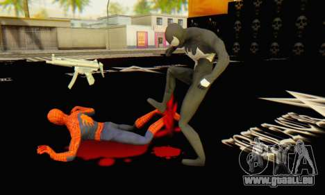 Skin The Amazing Spider Man 2 - Molecula Estable für GTA San Andreas sechsten Screenshot