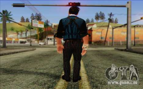 Booker DeWitt Skin für GTA San Andreas zweiten Screenshot