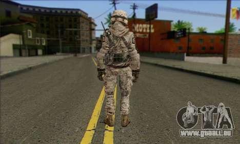 Task Force 141 (CoD: MW 2) Skin 5 für GTA San Andreas zweiten Screenshot