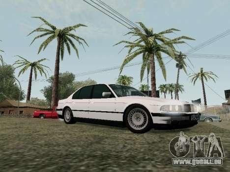 BMW 760i E38 pour GTA San Andreas vue de côté