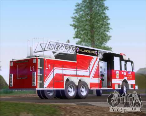 Pierce Arrow XT TFD Ladder 1 für GTA San Andreas linke Ansicht