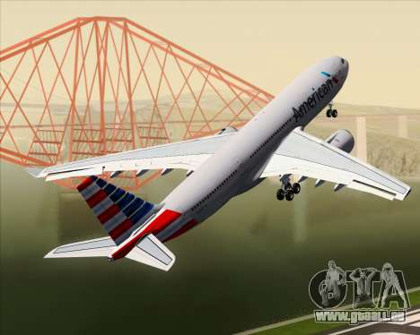 Airbus A330-200 American Airlines pour GTA San Andreas roue