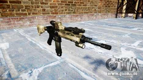 Automatic rifle Colt M4A1 Mack gibt es für GTA 4
