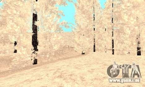 Schnee für GTA Kriminellen Russland beta 2 für GTA San Andreas achten Screenshot