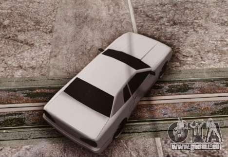 Elegy by Scop & Milky pour GTA San Andreas sur la vue arrière gauche