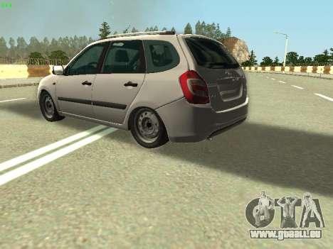 Lada Kalina 2 Wagon pour GTA San Andreas vue de côté
