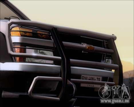 Chevrolet Colorado für GTA San Andreas Räder