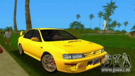 Subaru Impreza WRX STI GC8 Sedan Type 1 pour GTA Vice City