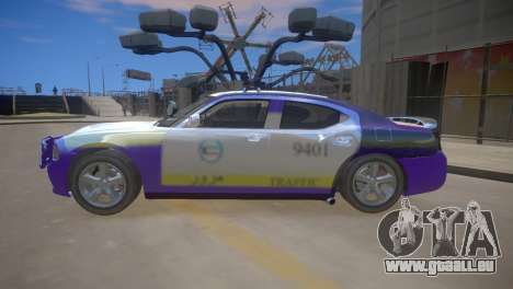 Dodge Charger Kuwait Police 2006 pour GTA 4 Vue arrière