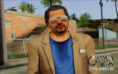 Willis Huntley from Far Cry 3 pour GTA San Andreas troisième écran
