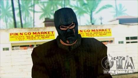 Manhunt Ped 18 für GTA San Andreas dritten Screenshot