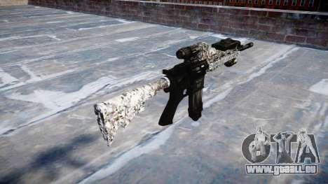 Automatische Gewehr Colt M4A1 Diamant für GTA 4 Sekunden Bildschirm