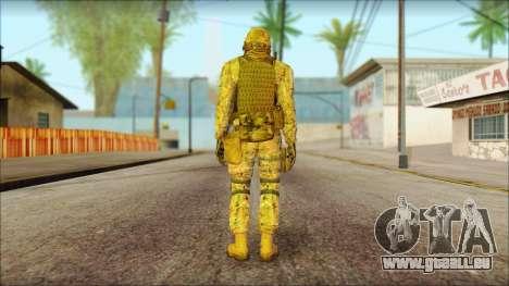 USA Soldier v2 pour GTA San Andreas deuxième écran