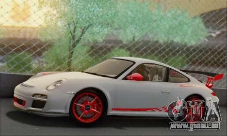 Porsche 911 GT3 2010 pour GTA San Andreas laissé vue