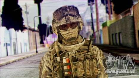 Ranger (CoD: MW2) v1 pour GTA San Andreas troisième écran