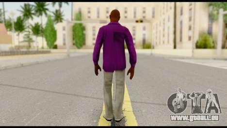 Purple Shirt Vic pour GTA San Andreas deuxième écran