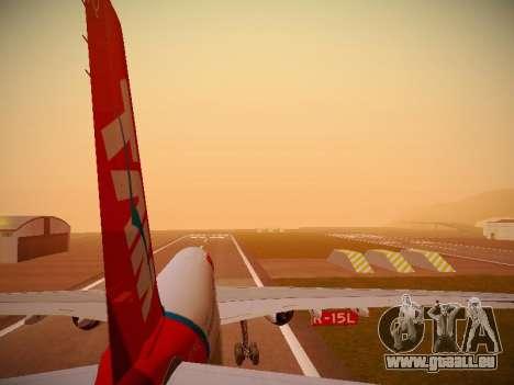 Airbus A330-200 TAM Airlines pour GTA San Andreas moteur