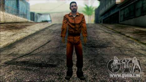 Danny from The Walking Dead: 400 Days pour GTA San Andreas