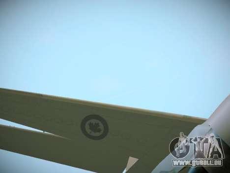 Canadian Forces Airbus CC150 Polaris pour GTA San Andreas vue de côté