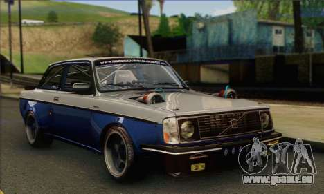 Volvo 242 V6 Twin Turbo 1983 - Stock für GTA San Andreas