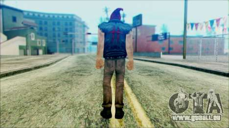 Manhunt Ped 19 pour GTA San Andreas deuxième écran