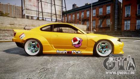 Nissan Silvia S15 Street Drift [Updated] für GTA 4 linke Ansicht
